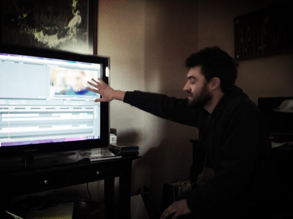 Editing the live vids w/ @pushak_studios ... #GetExcited pic.twitter.com/a4MGmWIu4o